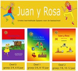 3 delen Juan y Rosa leermethode